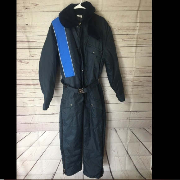 Vintage Other - WALLS Blizzard Pruf Men Blue Insulated Coverall